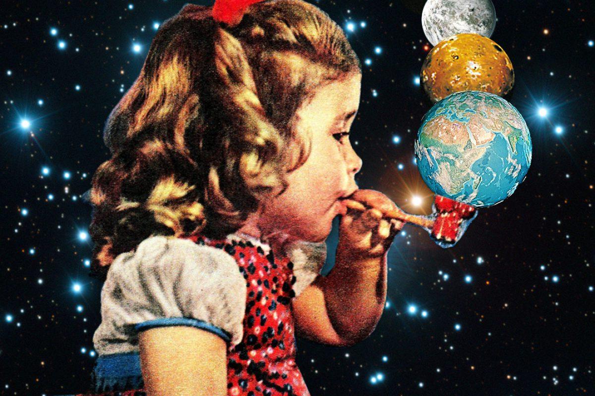 Eugenia Loli超现实主义的拼贴画
